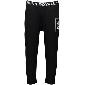 Mons Royale M's Shaun-Off 3/4 Legging Black